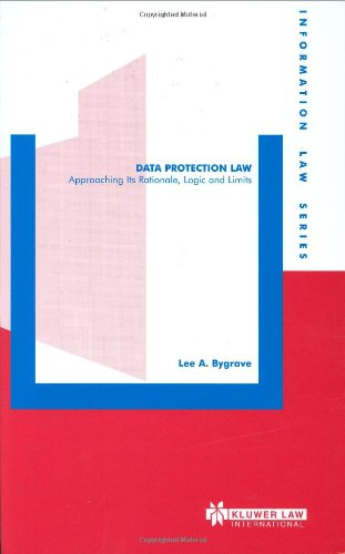 9789041198709: Data Protection Law, Approaching Its Rationale, Logic and Limits (Information Law Series Set)