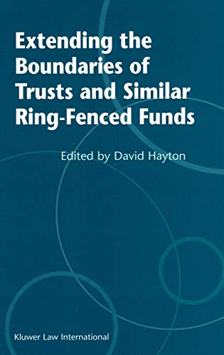 9789041198792: Extending the Boundries of Trusts and Similar Ring-Fenced Funds