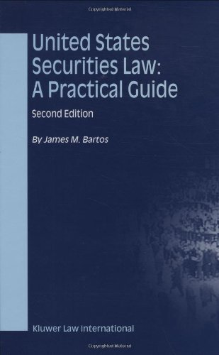 9789041198969: United States Securities Law: A Practical Guide