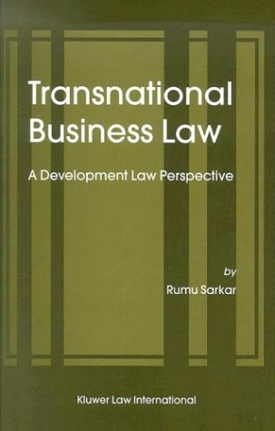 9789041199218: Transnational Business Law: A Development Law Perspective