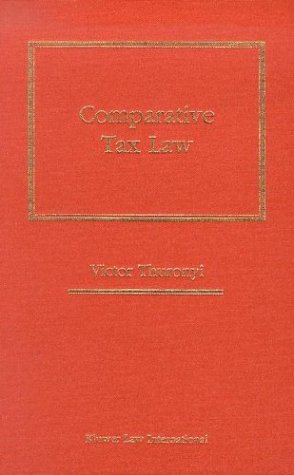 9789041199232: Comparative Tax Law
