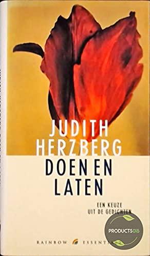 Doen en laten: een keuze uit de gedichten (Rainbow essentials) - Herzberg, Judith