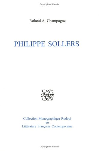 9789042000049: Philippe Sollers