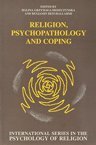 9789042001015: Religion, Psychopathology and Coping (International Series in the Psychology of Religion)