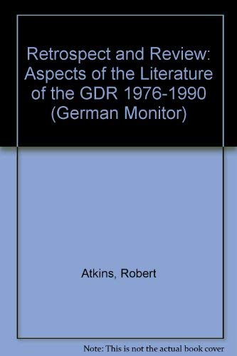 Retrospect and Review: Aspects of the Literature