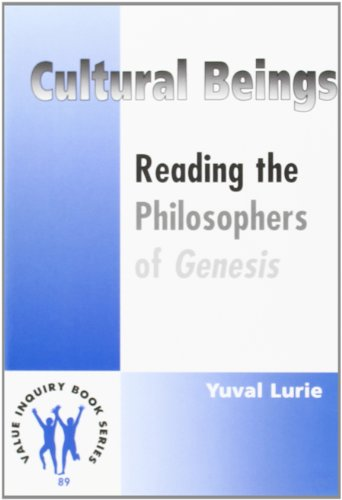 9789042004696: CULTURAL BEINGS. Reading the Philosophers of Genesis. (Value Inquiry Book Series 89)