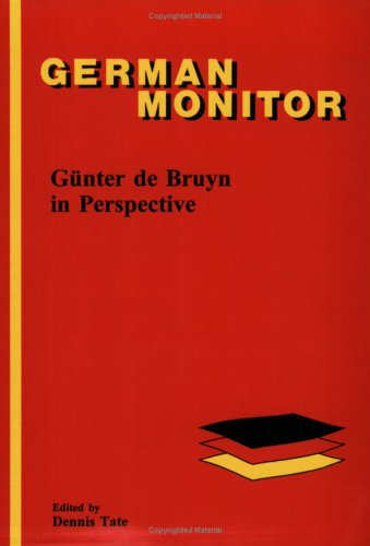 9789042005563: Gunter de Bruyn in Perspective (German Monitor)