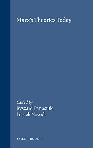 Marx's Theories Today: Ryszard Panasiuk