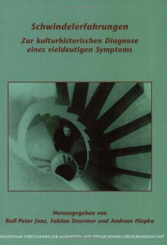 9789042010567: GER-SCHWINDELERFAHRUNGEN (Internationale Forschungen Zur Allgemeinen Und Vergleichenden Literaturwissenschaft)