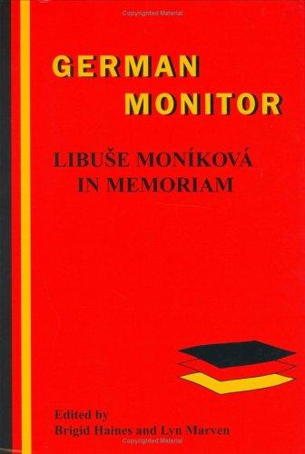 Libuse Monikova in Memoriam. - HAINES, BRIGID|LYN MARVEN [EDS.].