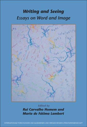 9789042016989: Writing and Seeing: Essays on Word and Image (Internationale Forschungen zur Allgemeinen und Vergleichenden Literaturwissenschaft 95)