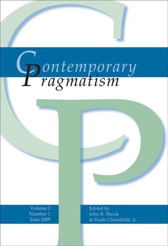 9789042017078: Contemporary Pragmatism (Contemporary Pragmatism 2:1)