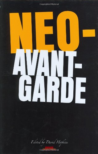 9789042021259: Neo-avant-garde