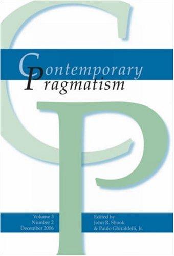 9789042021785: Contemporary Pragmatism Vol. 3, Issue 2
