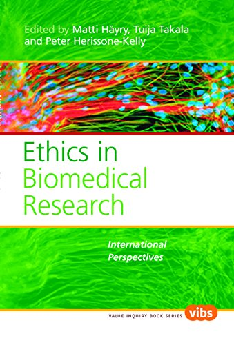 9789042021792: Ethics in Biomedical Research: International Perspectives. (Values in Bioethics)