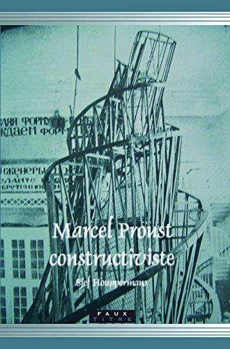 9789042022553: Marcel Proust constructiviste