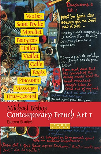 9789042024182: Contemporary French Art 1: Eleven Studies. (Faux Titre) (v. 1)