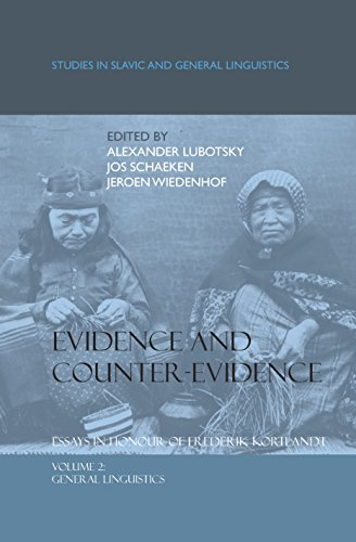 Evidence and Counter-Evidence: Essays in Honour of