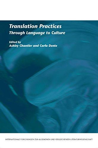 9789042025332: Translation Practices: Through Language to Culture. (Internationale Forschungen Zur Allgemeinen Und Vergleichenden Literaturwissenschaft)