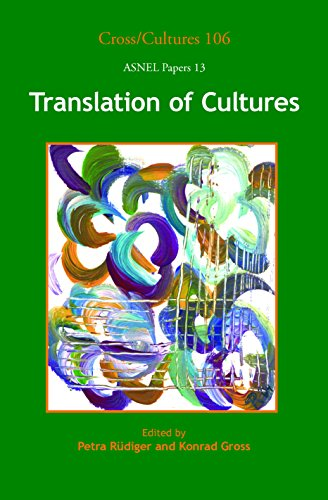 9789042025967: Translation of Cultures. (Cross Cultures)