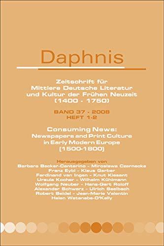 Daphnis : Zeitschrift für mittlere Deutsche Literatur und Kultur der Frühen Neuzeit (1400...