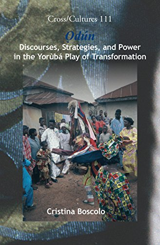 9789042026803: Odun: Discourses, Strategies and Power in the Yoruba Play of Transformation (Cross Cultures)