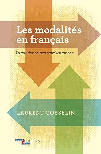 9789042027565: Les Modalites En Francais La Validation des Representations