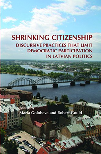 9789042031333: Shrinking Citizenship: Discursive Practices That Limit Democratic Participation in Latvian Politics. (On the Boundary of Two Worlds)
