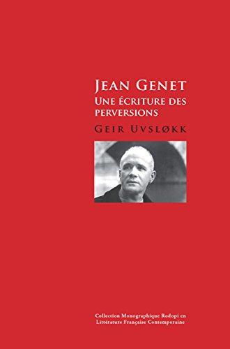 9789042032392: Jean Genet: Une Ecriture Des Perversions