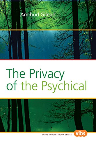 The privacy of the psychical. 9789042033917 This book argues that the irreducible singularity of each person as a psychical subject implies the privacy of the psychical and that of experience, and yet the private accessibility of each person to his or her mind is compatible with interpersonal communication and understanding. The book treats these major issues against the background of the author's original metaphysics-panenmentalism.