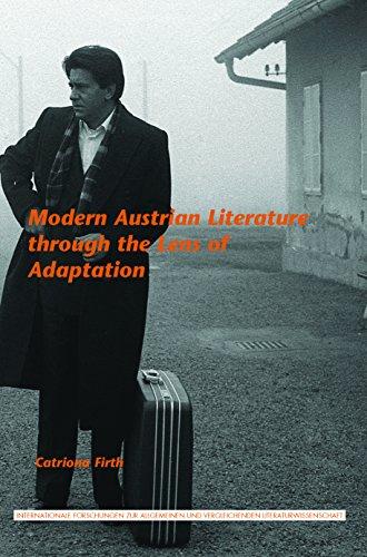 Modern Austrian Literature Through the Lens of: Firth, Catriona