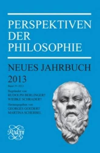 Perspektiven Der Philosophie: Neues Jahrbuch (German Edition): Rodopi