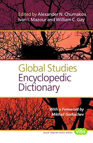9789042038547: Global Studies Encyclopedic Dictionary (Value Inquiry Book)