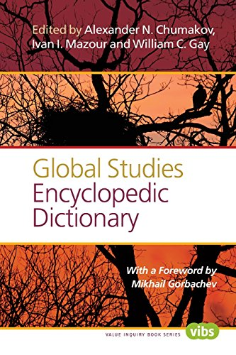 9789042038554: Global Studies Encyclopedic Dictionary (Value Inquiry Book)