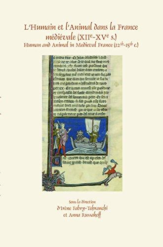 9789042038653: LHumain et lAnimal dans la France médiévale (XIIe-XVe s.) (Faux Titre)