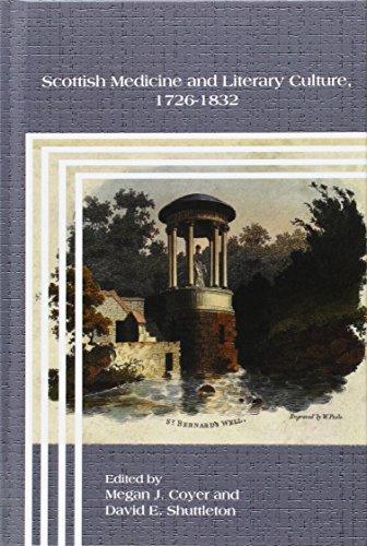 Scottish Medicine and Literary Culture, 1726-1832 (Hardback)