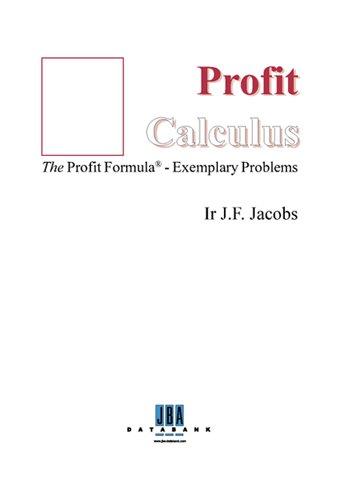 9789042301511: The Profit Formula: Exemplary Problems
