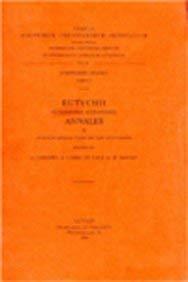 Eutychii patriarchae Alexandrini annales, II. Accedunt annales Yahia ibn Said Antiochensis: ...