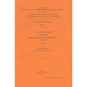 S. Athanase. Lettres festales et pastorales en copte: LefortL.T.,