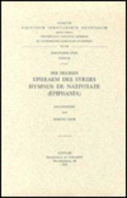 Des heiligen Ephraem des Syrers Hymnen De Nativitate (Epiphania): BeckE.,