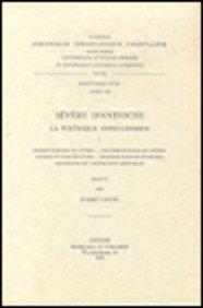 9789042902855: Severe d'Antioche. La polemique antijulianiste, I. Syr. 105. (Corpus Scriptorum Christianorum Orientalium)