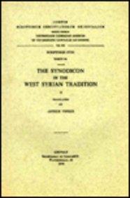 9789042904170: The Synodicon in the West Syrian Tradition, II. Syr. 164. (Corpus Scriptorum Christianorum Orientalium)