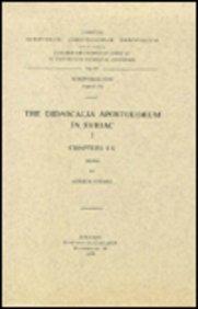 The Didascalia Apostolorum in Syriac, I: VööbusA.,