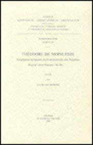 Théodore de Mopsueste. Fragments syriaques du Commentaire des Psaumes (Psaume 118 et Psaumes...