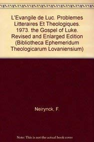 L'Évangile de Luc - The Gospel of Luke: NeirynckF.,