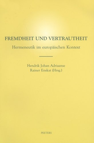 Fremdheit und Vertrautheit: Adriaanse H.J., Enskat R. ,