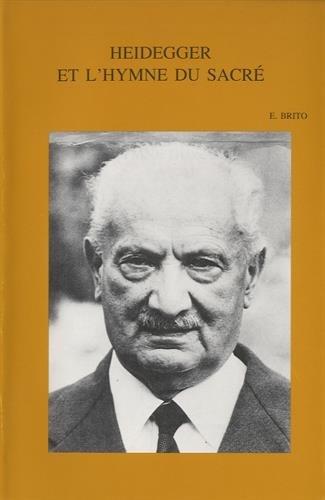 9789042907539: Heidegger et l'hymne du sacre (Bibliotheca Ephemeridum Theologicarum Lovaniensium)
