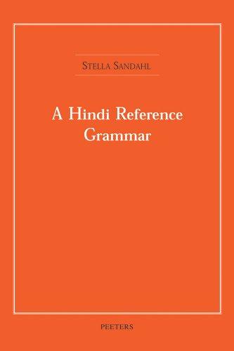 9789042908802: A Hindi Reference Grammar