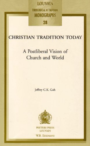 Christian Tradition Today: Goh J.C.K.,