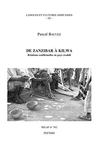 9789042910119: De zanzibar a kilwa